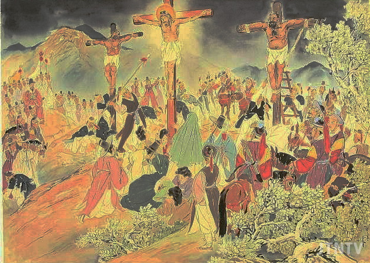 cpj 김기창 십자가상의 예수.jpg