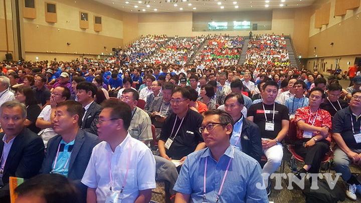 ▲ 제45차 한국대회에는 국내외 3천여 명의 크리스천 기업가들이 참석했다.ⓒ데일리굿뉴스01.jpg